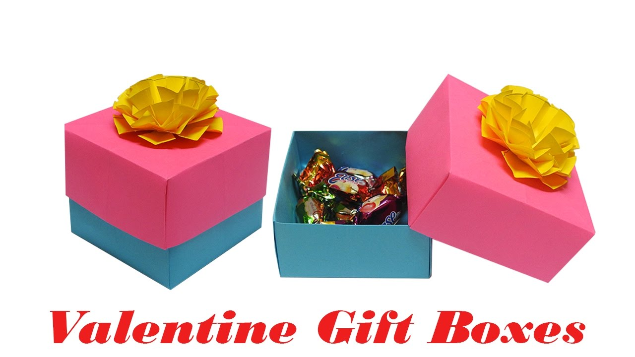 Papercraft: Valentine Boxes | Valentines Gifts | DIY Box - Origami ...
