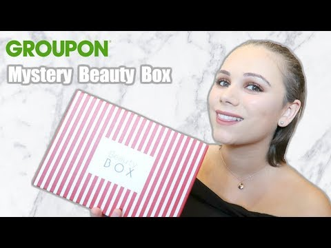 Groupon Mystery Beauty Box Unboxing