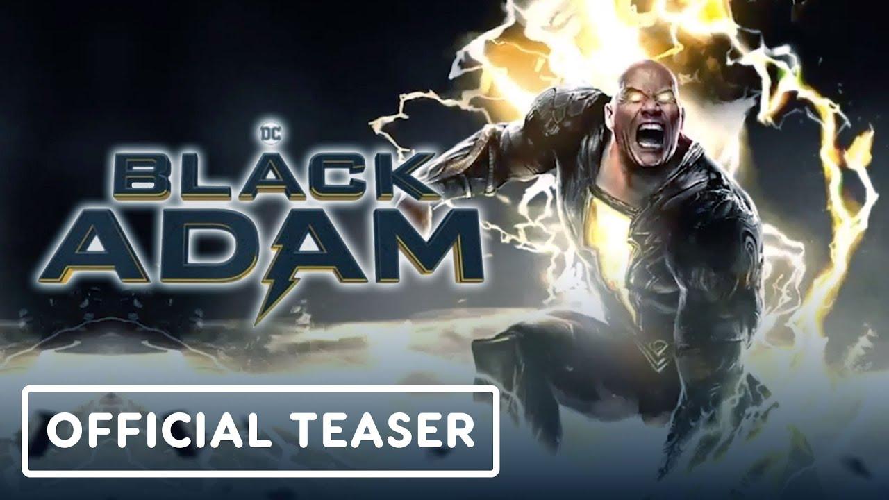 Download Black Adam - Official Teaser (2021) Dwayne Johnson | DC FanDome