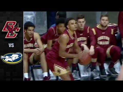 Boston College vs. La Salle Basketball Highlights (2017)