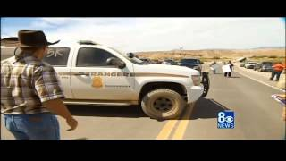 Tensions Increase As Feds Seize Nevada Rancher
