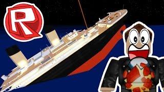 SURVIVE THE SINKING TITANIC! | Roblox