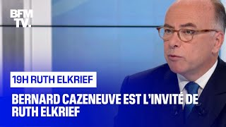 Bernard Cazeneuve face à Ruth Elkrief