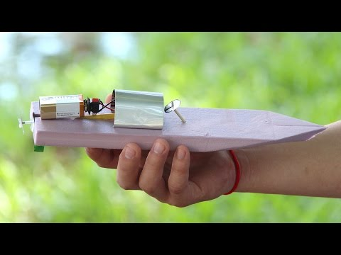 How to Make a Simple Electric Boat - Fast Speed Boat DIY