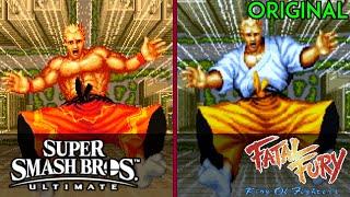 Terry Bogard Smash Ultimate TRAILER ORIGINS (Nintendo Direct Reveal)