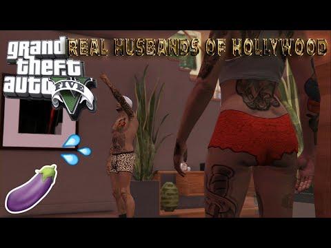 GTA 5 REAL HUSBANDS OF HOLLYWOOD EP.  1 ROB AND BLAC CHYNA