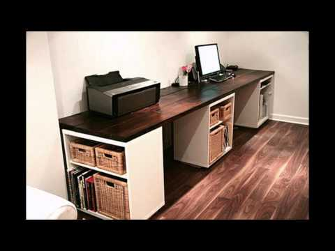 Home office cabinet design decorating ideas - YouTube