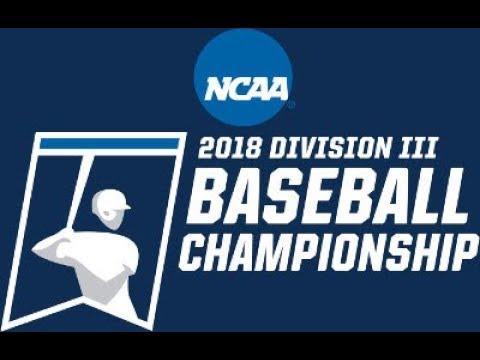 2018 NCAA Division III Baseball Mideast Regionals: Ithaca vs. LaRoche (Game Three)