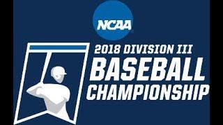 2018 NCAA Division III Baseball Mideast Regionals: Ithaca vs. LaRoche (Game Three) thumbnail