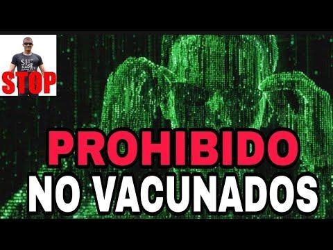 PROHIBIDO RESTAURANTES, VIAJAR, BARES Y ESCUELAS A NO VACUNADOS.