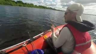 Good Day Fishing Lough Derravaragh. Жара, Июнь и щучки