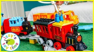 LEGO DUPLO TOY STORY 4 TRAIN! Fun Toy Trains for Kids
