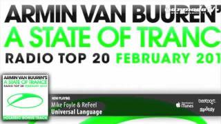 Out Now: Armin Van Buuren - A State Of Trance Radio Top 20 - February 2012