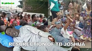 Synagogue Members Gather To Pray For The Resurrection Of Prophet T.B JOSHUA From Death