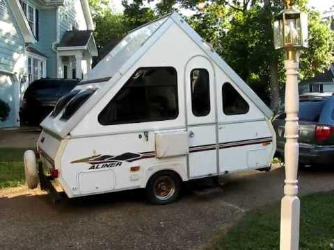 aliner folding camper easy set up demo