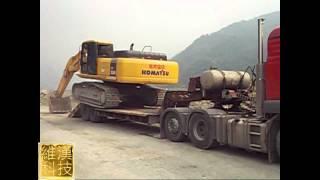 工程完工挖掘機上拖車影集WMV720-20120329.wmv