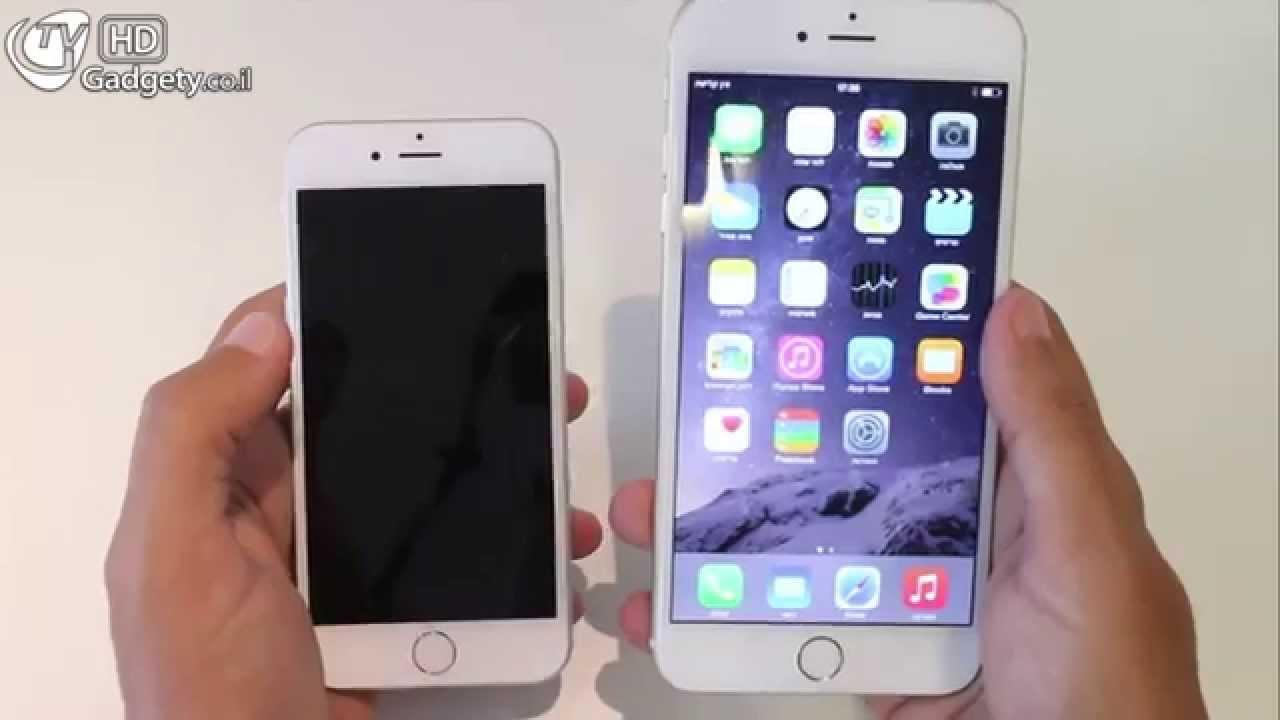 מיוחדים הצצה ראשונה iPhone 6 Plus - YouTube BC-55