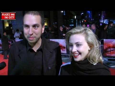 Sarah Gadon & Brandon Cronenberg Interview on Antiviral