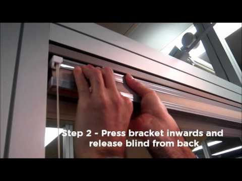 Pleated Cellular Blind Removal