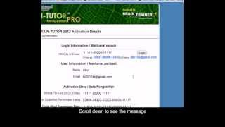How to reset your activation code avi by bt2012st