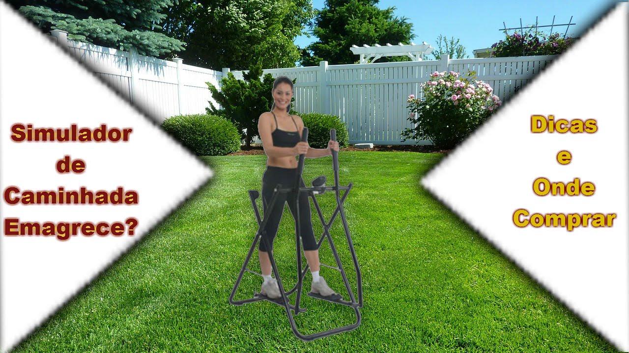 quanto tempo no simulador de caminhada para perder peso