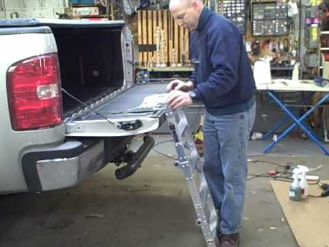 Westin Truck Pal Tailgate Ladder Demonstration By
