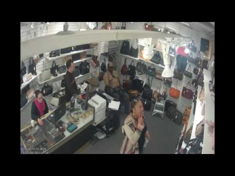 Couple stealing Louis Vuitton  bag