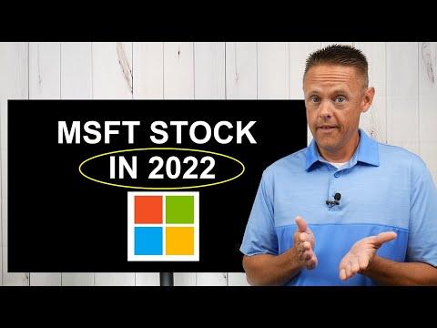 Microsoft Stock Price Prediction 2022   MSFT Stock Analysis
