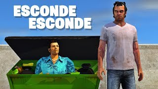 BRINCANDO DE ESCONDE-ESCONDE NO GTA V! (GTA Online)