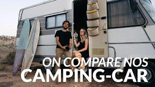 Ils voyagent en couple dans leur camping car de 1988 (PRÉSENTATION et COMPARAISON VAN TOUR)