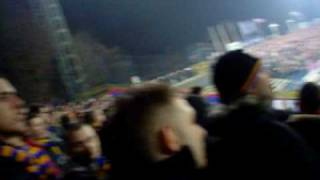 Górnik Zabrze - Arka Gdynia 06.03.2009 Doping Kibiców Arki