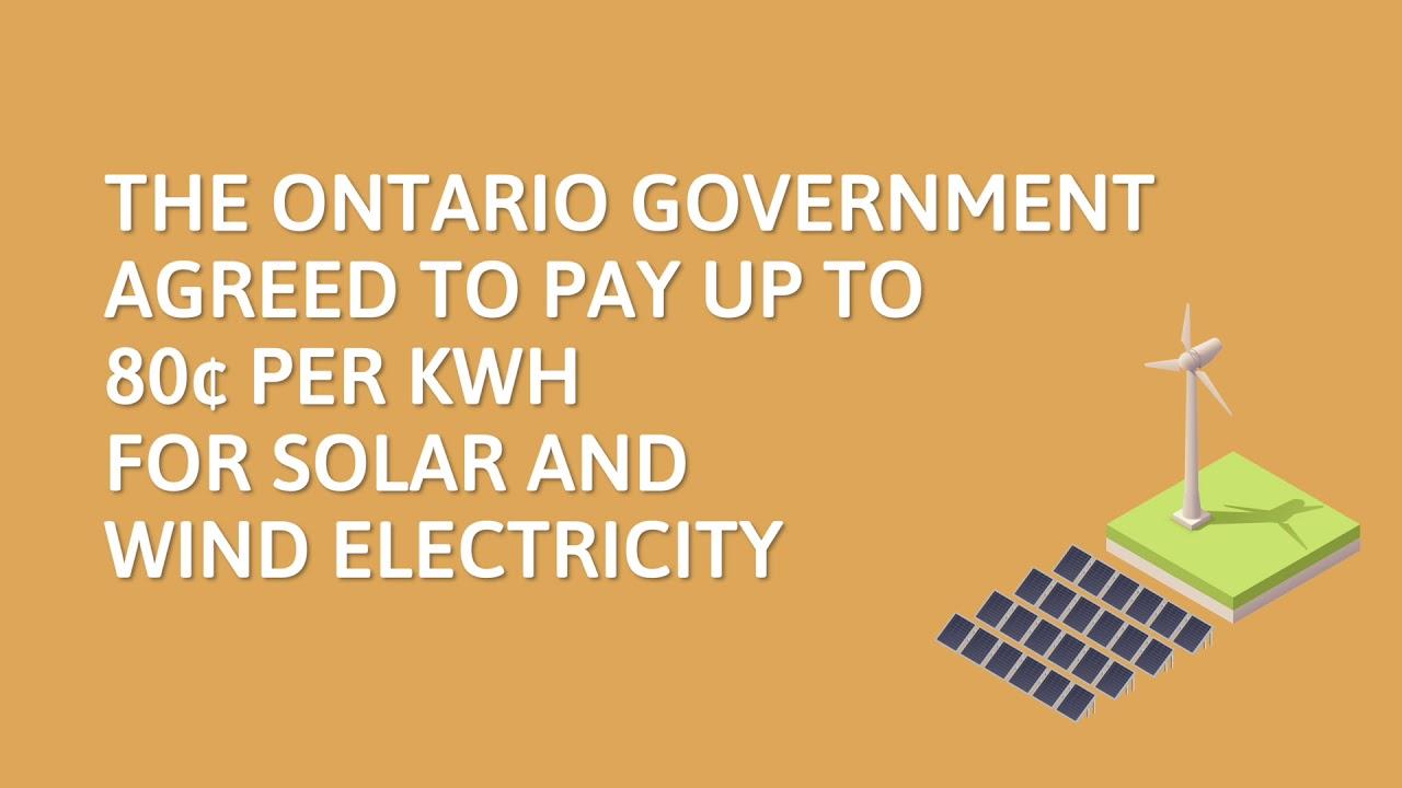 Kosten van hydro hook up in Ontario