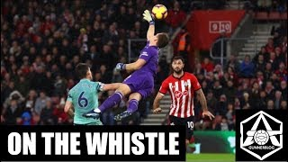"On the Whistle: Southampton 3-2 Arsenal - ""Defensive problems laid bare"""