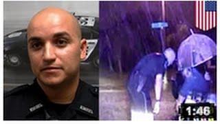 Policier Héros: Un brigadier se filme aider un paraplégique à rentrer chez lui.