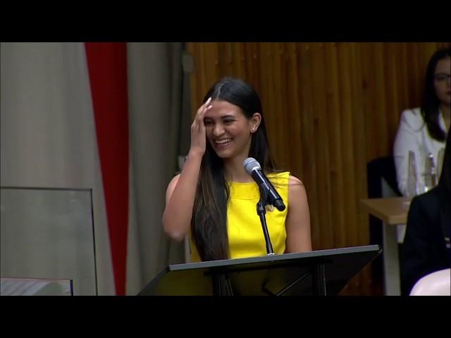 Cuerpo de Prensa (CP) en la Reunión Plenaria de NYMUNLAC 2019.