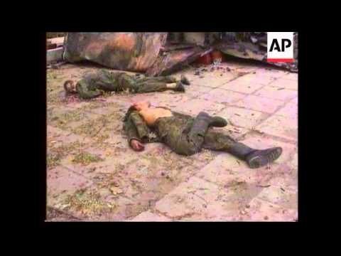 Chechnya - Basayev interview and burials