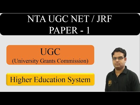 Higher Education Paper 1 Part 2 || University Grants Commission (UGC) - CBSE UGC NET JRF Exam