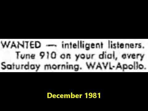 910 WAVL Apollo, Pa. - December 1981
