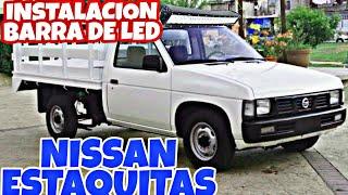 Negocios/publicidad negociosmanimix@gmail.com #nissanestaquitas #barradeled #led barra de led para camioneta, 4x4, casera, bar...