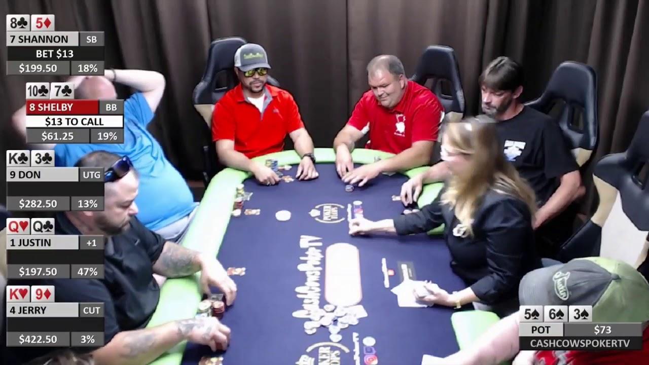 $.50-1 NLH Cash Game. Season 3, Game 1, Episode 1. Sponsored By PokerFlops & RossSlots