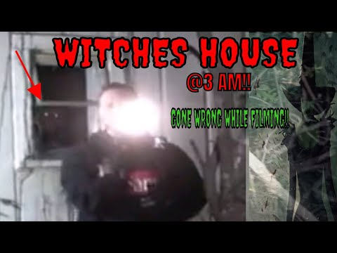 3 AM AT WITCHES HOUSE *GONE WRONG*!!