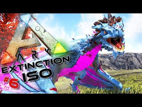 ARK ISO Extinction : Wyvern de cristal et Singe psychopathe !#6