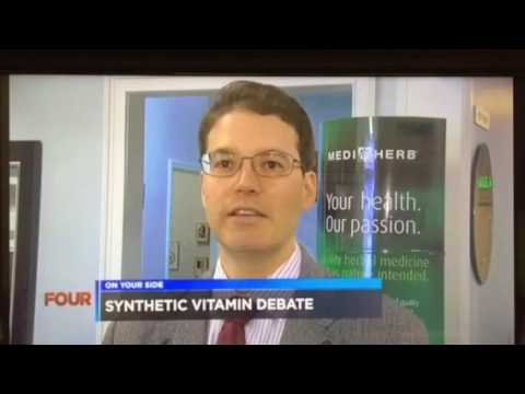 Dr Lee Goldenberg explains the importance of whole food supplements versus synthetics