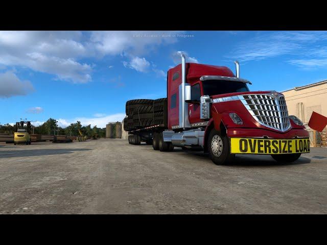 Cruising #Wyoming in American Truck Simulator #ATS #Convoy