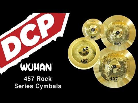Wuhan 457 Rock Series Cymbals
