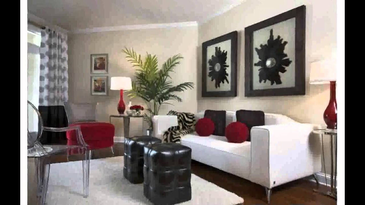 Living Room Decor Ideas for Small Rooms - YouTube