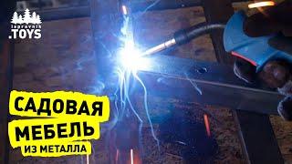 видео Кровать из металла своими руками — технология производства