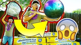 WORLD'S BIGGEST MIRROR-POLISHED JAPANESE FOIL BALL CHALLENGE!!