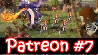 Clash of Clans | Patreon Episode #7 - Dragon Attacks vs Th9/Th10