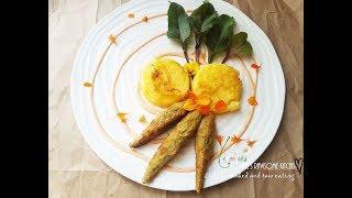 PART 2 FREE FOOD MILKWEED PODS AND FRIED POLENTA GOURMET WILD EDIBLES VEGAN Connie's RAWsome kitchen